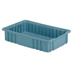 """16-1/2"""" L x 10-7/8"""" W x 3-1/2"""" Hgt. Light Blue Divider Box"""