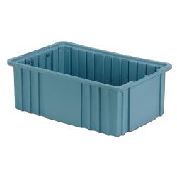 """16-1/2"""" L x 10-7/8"""" W x 6"""" Hgt. Light Blue Divider Box"""