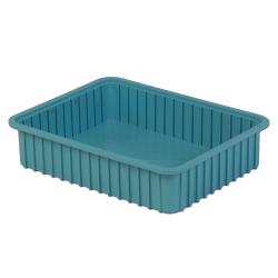 """22-5/16"""" L x 17-5/16"""" W x 5"""" Hgt. Light Blue Divider Box"""