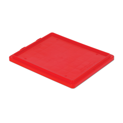 """Red Cover for 24"""" L x 20"""" W Stack-N-Nest ® Container"""