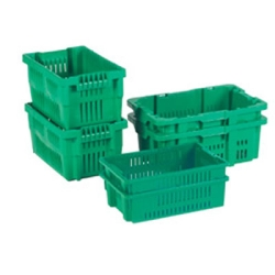 LEWISBins+® Ventilated Stack-N-Nest Containers
