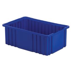 """16-1/2"""" L x 10-7/8"""" W x 6"""" Hgt. Dark Blue Divider Box"""