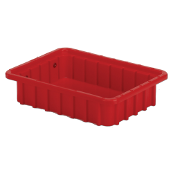 """10-7/8"""" L x 8-1/4"""" W x 2-1/2"""" Hgt. Red Divider Box"""
