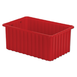 """16-1/2"""" L x 10-7/8"""" W x 7"""" Hgt. Red Divider Box"""