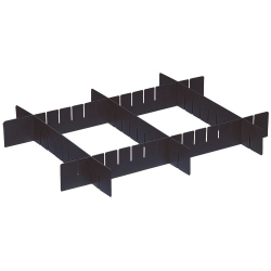 "Dividable Grid Container Short Divider - 8-1/4"" W x 3-1/2"" Hgt. (#52898, #52899, #52900)"