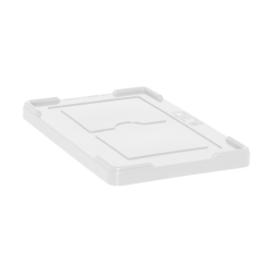 "Clear Cover for 22-1/2"" L x 17-1/2"" W Containers"
