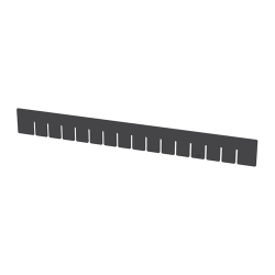 "Akro-Grid Long Dividers for 22-1/2"" L x 17-3/8"" W x 3"" Hgt. Bins"