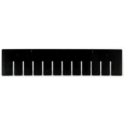 "Akro-Grid Short Dividers for 22-3/8"" L x 17-3/8"" W x 4"" Hgt. Bins"