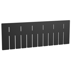 "Akro-Grid Short Dividers for 22-3/8"" L x 17-3/8"" W x 6"" H Bins"