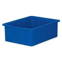 """22-3/8"""" L x 17-3/8"""" W x 8"""" H Blue Akro-Grid Bin"""