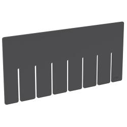 "Akro-Grid Short Dividers for 16-1/2"" L x 10-7/8"" W x 5"" H Bins"