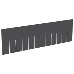 "Akro-Grid Long Dividers for 16-1/2"" L x 10-7/8"" W x 5"" Hgt. Bins"