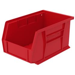 """9-1/4""""L x 6""""W x 5""""H OD Red Storage Bin"""