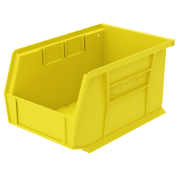"9-1/4""L x 6""W x 5""H OD Yellow Storage Bin"