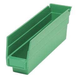 "Green Quantum® Economy Shelf Bin - 11-5/8"" L x 2-3/4"" W x 4"" Hgt."