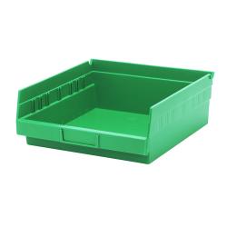 "Green Quantum® Economy Shelf Bin - 11-5/8"" L x 11-1/8"" W x 4"" Hgt."