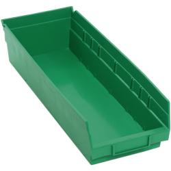 "Green Quantum® Economy Shelf Bin - 17-7/8"" L x 6-5/8"" W x 4"" Hgt."