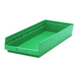 "Green Quantum® Economy Shelf Bin - 23-5/8"" L x 11-1/8"" W x 4"" Hgt."