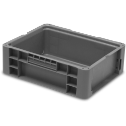 """12"""" L x 15"""" W x 5"""" Hgt. Schaefer NewStac Reusable Container"""