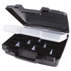 Black Merchant™ Case with Tray