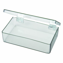 "Mighty-Tuff™ Box with 1 Compartment - 4-5/16"" L x 2-5/8"" W x 1-1/16"" Hgt."