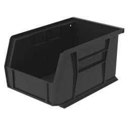 "9-1/4"" L x 6"" W x 5"" Hgt. OD Black Storage Bin"