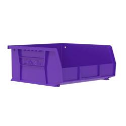"""10-7/8"""" L x 11"""" W x 5"""" Hgt. OD Purple Storage Bin"""