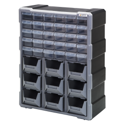 30 Drawers & 9 Bins Cabinet