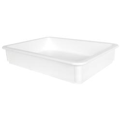 """White Artisan Dough Tray - 17-3/4"""" L x 12-3/4"""" W x 3"""" H"""