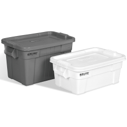 Rubbermaid® Brute® Tote with Lid