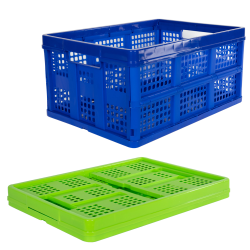 Vented Folding Crates