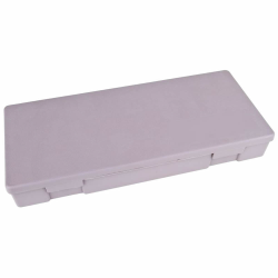 "V-Series Chemical Resistant Box - 17"" x 7-1/8"" W x 2"" H"