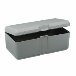 "V-Series Chemical Resistant Box - 8-1/8"" L x 4.12"" W x 3"" H"