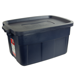 "14 Gallon Dark Indigo Rubbermaid® Roughneck - 24"" L x 16"" W x 12"" Hgt."