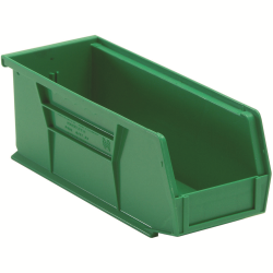 "Green Quantum® Ultra Series Stack & Hang Bin - 10-7/8"" L x 4-1/8"" W x 4"" Hgt."