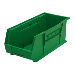 "Green Quantum® Ultra Series Stack & Hang Bin - 18"" L x 8-1/4"" W x 7"" Hgt."