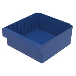 """11-5/8"""" L x 11-1/8"""" W x 4-5/8"""" Hgt. Blue AkroDrawer® Storage Drawer"""