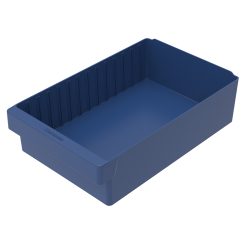 "17-5/8"" L x 11-1/8"" W x 4-5/8"" Hgt. Blue AkroDrawer® Storage Drawer"