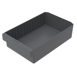 "17-5/8"" L x 11-1/8"" W x 4-5/8"" Hgt. Gray AkroDrawer® Storage Drawer"