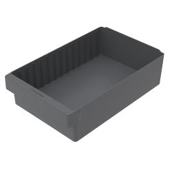 "17-5/8"" L x 11-1/8"" W x 4-5/8"" Hgt. Gray AkroDrawer® Storage Drawer"