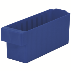 "11-5/8"" L x 3-1/4"" W x 4-5/8"" Hgt. Blue AkroDrawer® Storage Drawer"