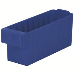 """11-5/8"""" L x 3-1/4"""" W x 4-5/8"""" Hgt. Blue AkroDrawer® Storage Drawer"""
