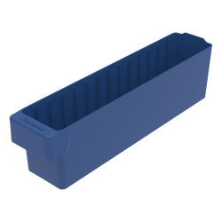 "17-5/8"" L x 3-1/4"" W x 4-5/8"" Hgt. Blue AkroDrawer® Storage Drawer"