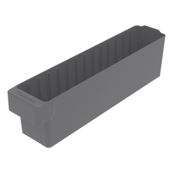 "17-5/8"" L x 3-1/4"" W x 4-5/8"" Hgt. Gray AkroDrawer® Storage Drawer"
