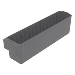 "17-5/8"" L x 3-1/4"" W x 4-5/8"" Hgt. Gray AkroDrawer® Storage Drawer"