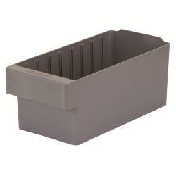 "11-5/8"" L x 5-5/8"" W x 4-5/8"" Hgt. Gray AkroDrawer® Storage Drawers"