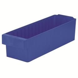 "17-5/8"" L x 5-5/8"" W x 4-5/8"" Hgt. Blue AkroDrawer® Storage Drawers"