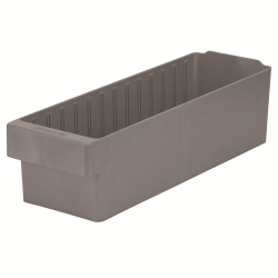 "17-5/8"" L x 5-5/8"" W x 4-5/8"" Hgt. Gray AkroDrawer® Storage Drawers"
