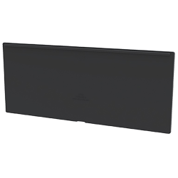 "Black Dividers for 11-1/8"" W AkroDrawer® Storage Drawers - Pack of 8"