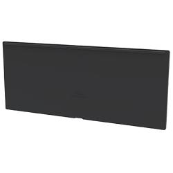 "Black Dividers for 11-1/8"" W AkroDrawer® Storage Drawers - Pack of 8"